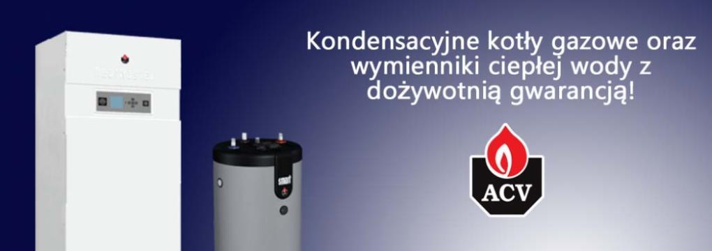 ACV Excellence in hot water Rewelacyjne zbiorniki na ciepłą wodę użytkową z najwyższej jakości stali nierdzewnej. Wysokosprawne